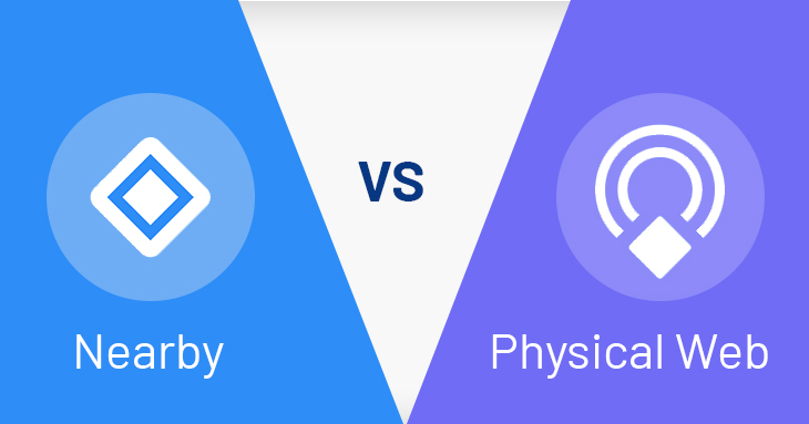 Google Nearby vs Physical Web LetsNurture