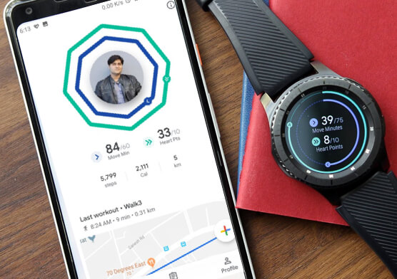 Revamp Health and Fitness Apps using the latest features of Google Fit